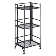 Convenience Concepts X-Tra Storage 3-Tier Folding Metal Shelf