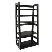 "Convenience Concepts 44.25"" Wood Bookcase"