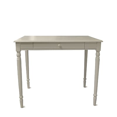 Convenience Concepts 36'' Rectangular Wood/Veneer Cottage/Country Computer Desk, White (6042195)