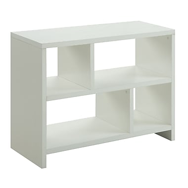 Convenience Concepts 38'' 4-Shelf Bookcase, White (111085W)