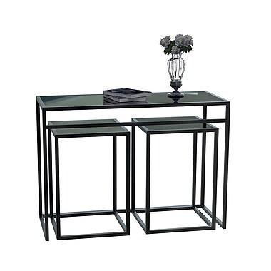Convenience Concepts Metal Accent Table, Black, Each (131362)