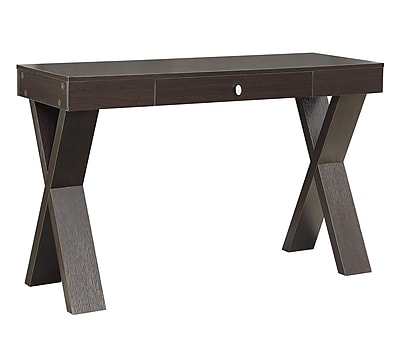 Convenience Concepts Modern Newport Wood Computer/Writing Desk