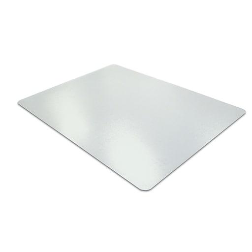 "Floortex Desktex PET 100% Post Consumer Recycled Smooth Back 19"" X 24"" Desk Mat 2/Pack"
