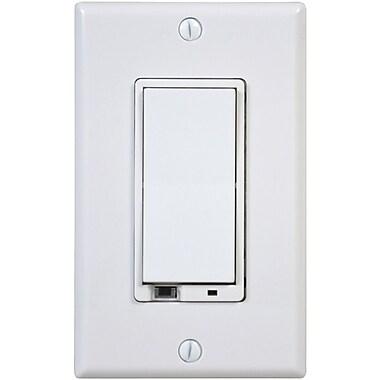 Linear® Z-Wave® WD1000Z-1 Z Way Wall Dimmer Switch, White