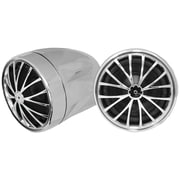 "Pyle® Audio PLMCS32 400 W Motorcycle/ATV/Snowmobile Mount W/Weatherproof 2 1/4"" Speakers"