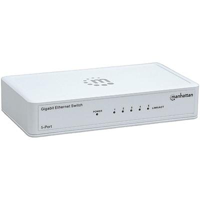 Manhattan® 560696 5 Port Gigabit Ethernet Switch