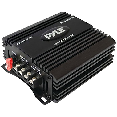 Pyle® PSWNV 240 W DC Power Step-Down Converter With PMW Technology, 12 VDC Input, 12.8 VAC Output