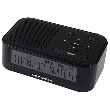 Motorola MWR815 Desktop Weather Radio