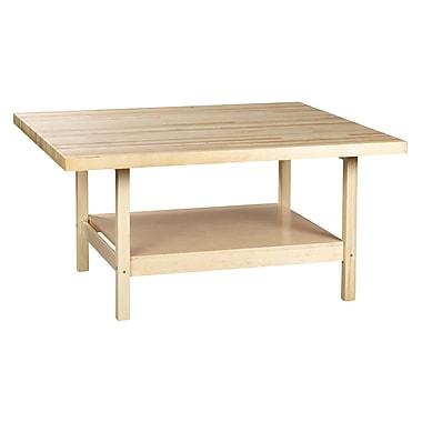 SHAIN Workbench 33.25''H x 64''W x 54''D Maple Plywood