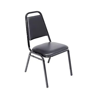 Regency Seating Restaurant Vinyl/Metal Stacking Chair (8029BK)
