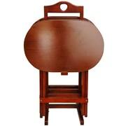 Oriental Furniture TV Tray Set w/ Stand