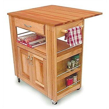 Catskill Craftsmen Kitchen Island w/ Wood Top