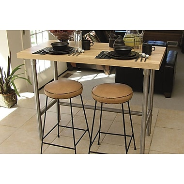 A-Line by Advance Tabco Prep Table w/ Wood Top