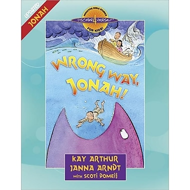 Wrong Way, Jonah! (Discover 4 Yourself Inductive Bible Studies for Kids)