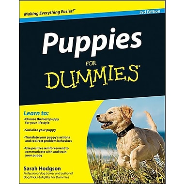 Puppies For Dummies, Used Book