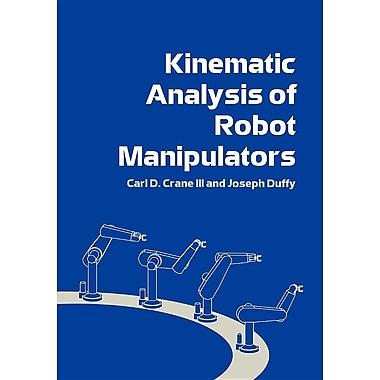 Kinematic Analysis of Robot Manipulators