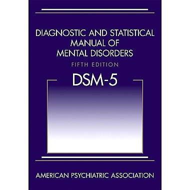 Diagnostic and Statistical Manual of Mental Disorders, 5th Edition, Used Book