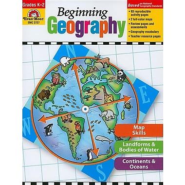 Beginning Geography, Grades K-2 (Beginning Geography (Evan-Moor)), Used Book
