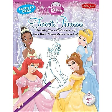 Learn to Draw Disney's Favorite Princesses