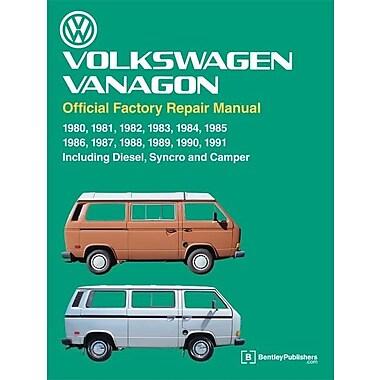 Volkswagen Vanagon Official Factory Repair Manual