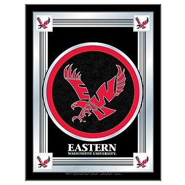 Holland Bar Stool NCAA Logo Mirror Framed Graphic Art; Eastern Washington