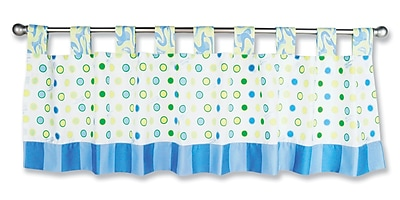 Trend Lab Dr. Seuss Oh The Places You''ll Go 53'''' Curtain Valance; Blue