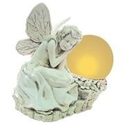 Echo Valley Sleeping Solar Fairy Statue