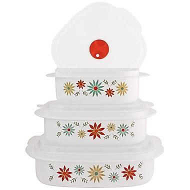 Corelle Corelle Coordinates Microwave Cookware 3 Container Food Storage Set