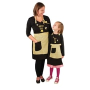 Manual Woodworkers & Weavers Queen Bee and Busy Bee Apron (Set of 2)