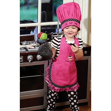 Manual Woodworkers & Weavers Lil Cupcake Chef Apron (Set of 3)