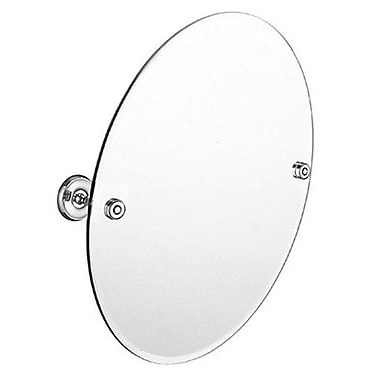 Smedbo Villa Bathroom Mirror; Brushed Nickel