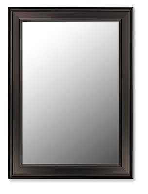 Hitchcock Butterfield Company Ceylon Black Wall Mirror; 46'' H x 36'' W WYF078276289955