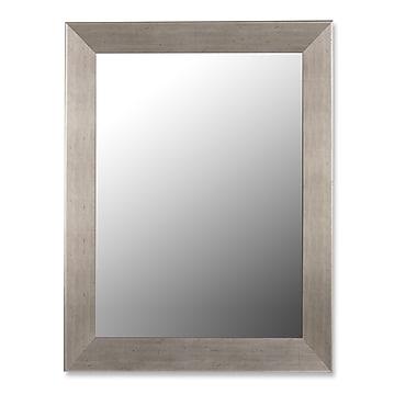 Hitchcock Butterfield Company Baroni Silver Grande Wall Mirror; 52.75''H x 40.75''W x 2.5''D