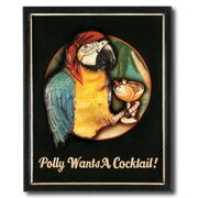 RAM Game Room ''Polly Wants A Cocktail'' Outdoor Sign