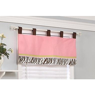 Pam Grace Creations Jolly Molly Monkey 39'' Curtain Valance