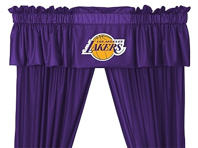 Sports Coverage NBA 88'' Los Angeles Lakers Curtain Valance