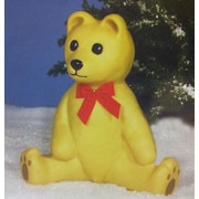 Union Products Bear Statue; Yellow