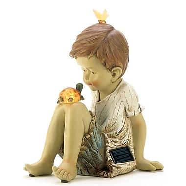 Zingz & Thingz Friends Solar Lighted Garden Statue