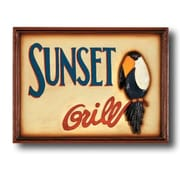RAM Game Room ''Sunset Grill'' Outdoor Sign