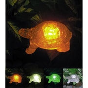 Homebrite Solar Solar Turtle w/ Color Change Lighting