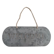 Cheungs Hanging ''Welcome'' Garden Sign