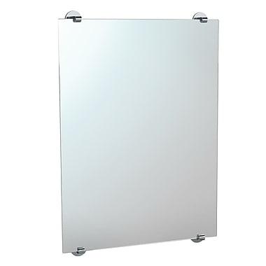 Gatco Zone Frameless Mirror; Chrome