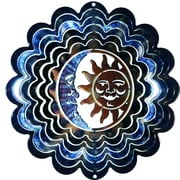 Next Innovations Eycatcher Kaleidoscope Sun and Moon Wind Spinner