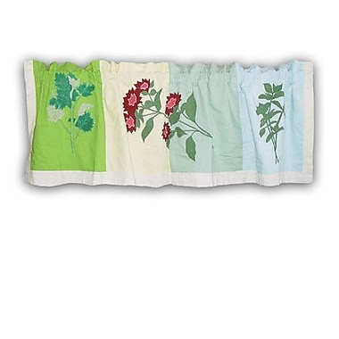 Patch Magic Herb Garden 54'' Curtain Valance