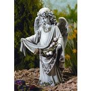 Roman, Inc. Angel w/ Birds in Skirt Statue