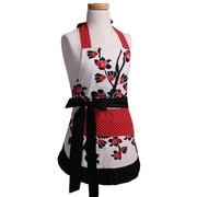 Flirty Aprons Girls' Original Apron in Cherry Blossom