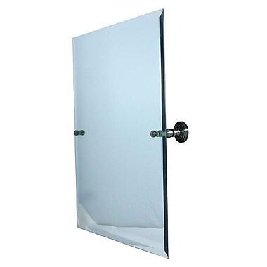 Allied Brass Waverly Place Tilt Mirror; Satin Nickel