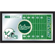 Holland Bar Stool NCAA Football Mirror Framed Graphic Art; South Florida