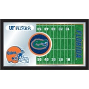 Holland Bar Stool NCAA Football Mirror Framed Graphic Art; Florida