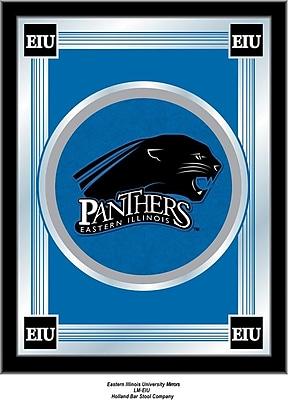 Holland Bar Stool NCAA Logo Mirror Framed Graphic Art; Eastern Illinois